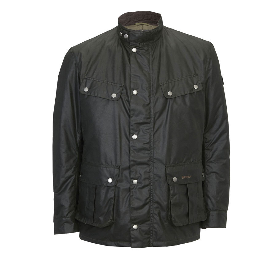 Barbour Barbour Duke Waxed Jacket Sage