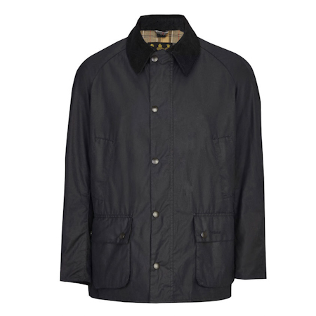 Barbour Barbour Ashby Waxed Jacket Navy Barbour Lifestyle Collection - Tailored Fit