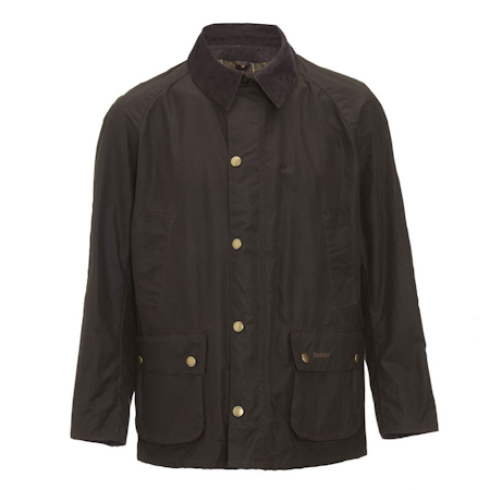 Barbour Barbour Ashby Waxed Jacket Oliva Barbour Lifestyle Collection - Tailored Fit