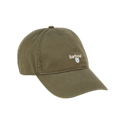 Barbour Branded Cascade Sports Cap Olive Barbour Lifestyle: From the Classic capsule