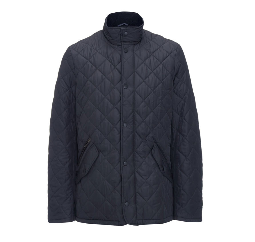 Barbour Barbour Chelsea Sportsquilt Jacket Navy Barbour Lifestyle: From the Core Essentials collection