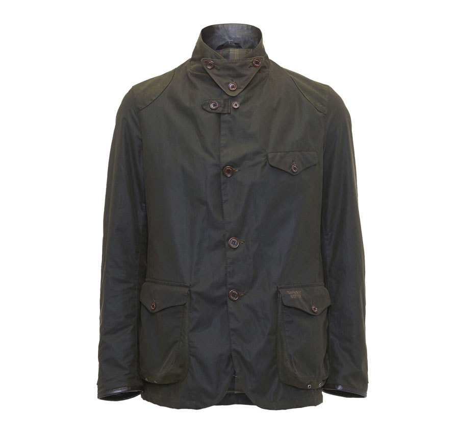 Barbour Barbour Beacon Sports Jacket Olive From the Homespun Tweeds collection