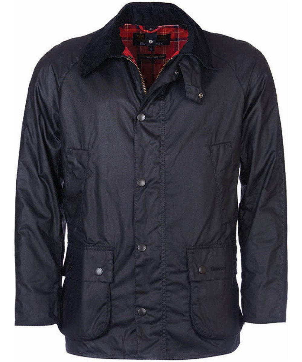 Barbour Barbour Ashby Waxed Jacket Black Barbour Lifestyle Collection - Tailored Fit