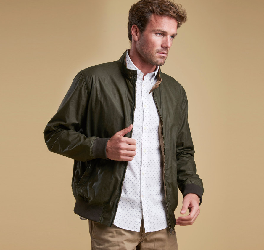 Barbour Barbour Lightweight Royston Wax Jacket Olive