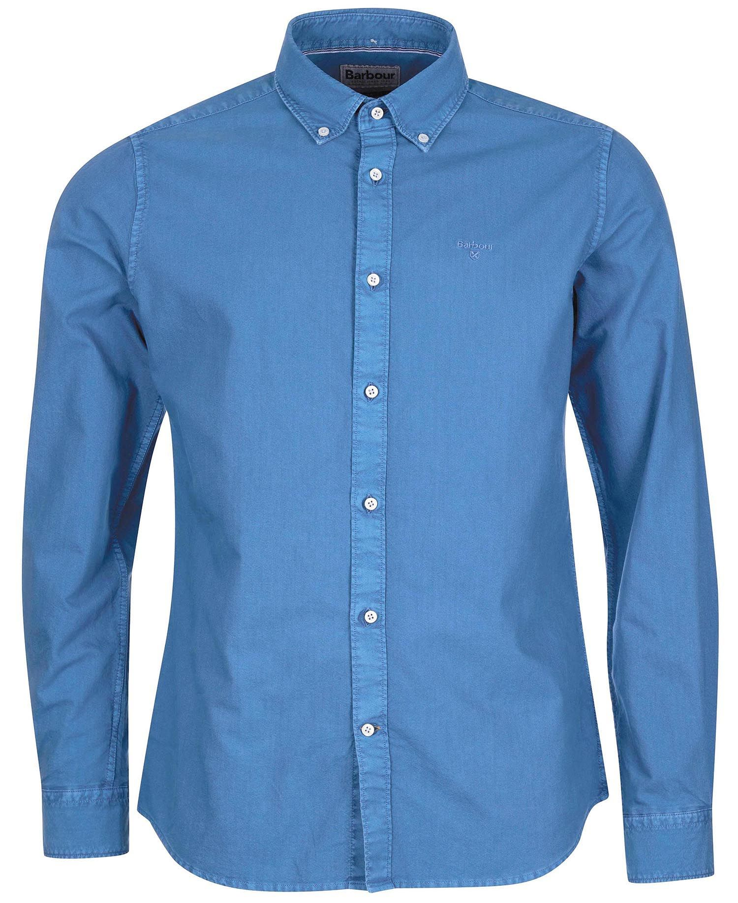 Barbour Barbour Oxford 13 Tailored Shirt Mid Blue FIT: Tailored