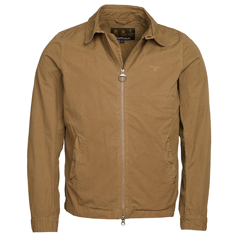 Barbour Barbour Casual Essential Jacket Sandstone Barbour Lifestyle: From the Classic collection