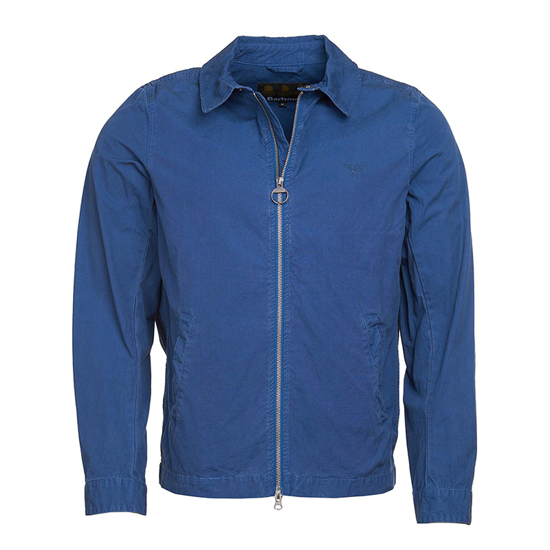 Barbour Barbour Casual Essential Jacket North Sea Blue Barbour Lifestyle: From the Classic collection