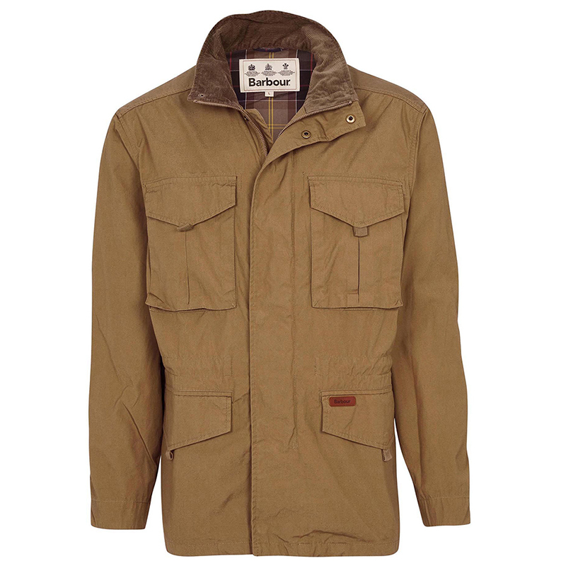 Barbour Barbour Peterkin Casual Jacket Stone FIT: Classic