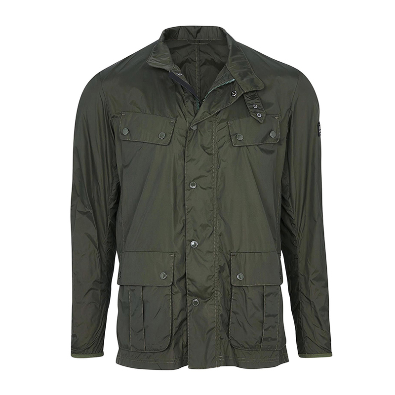 Barbour B.Intl Packable Duke Casual Jacket Sage FIT: Tailored