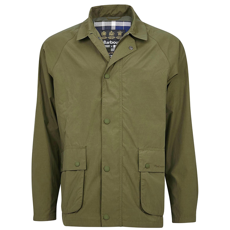 Barbour Barbour Laslo Casual Jacket Olive FIT: Tailored
