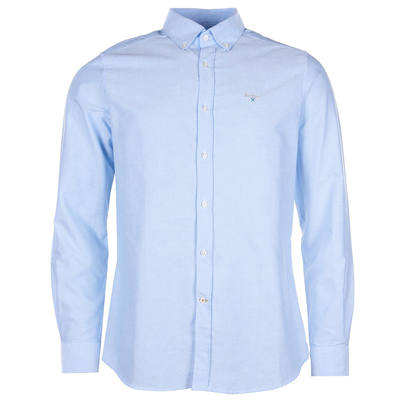 Barbour Barbour Oxford 3 Tailored Shirt Sky FIT: Tailored