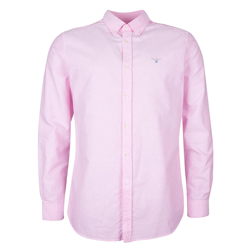 Barbour Barbour Oxford 3 Tailored Shirt Pink FIT: Tailored