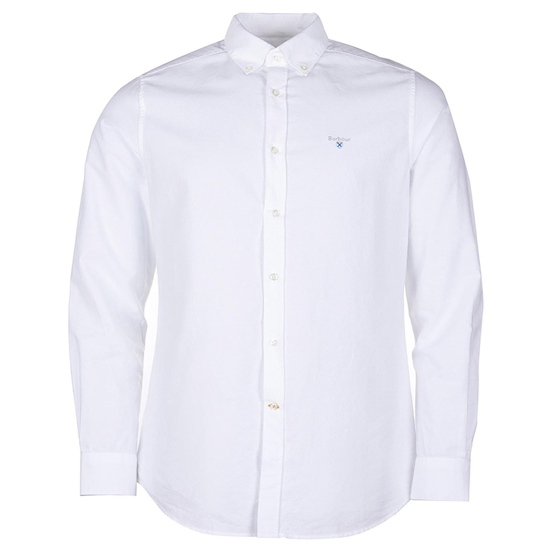 Barbour Barbour Oxford 3 Tailored Shirt White FIT: Tailored