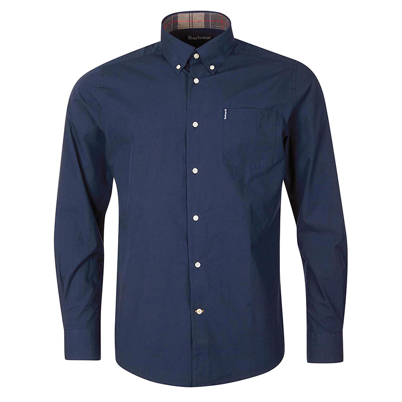 Barbour Barbour Headshaw Shirt Navy FIT: Tailored