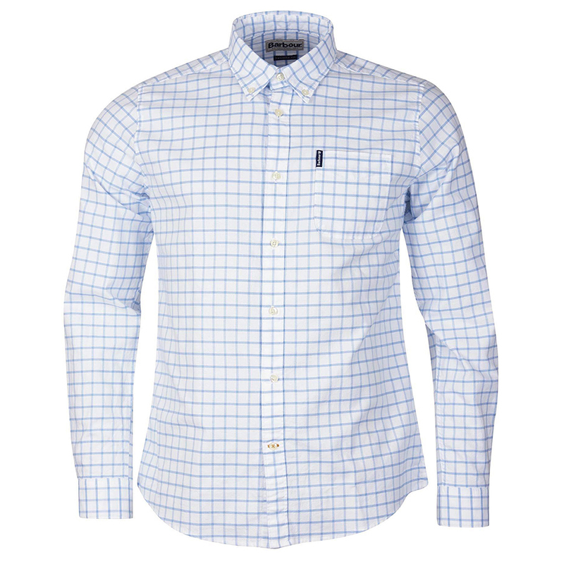Barbour Barbour Tattersall 23 Tailored Shirt Blue FIT: Tailored