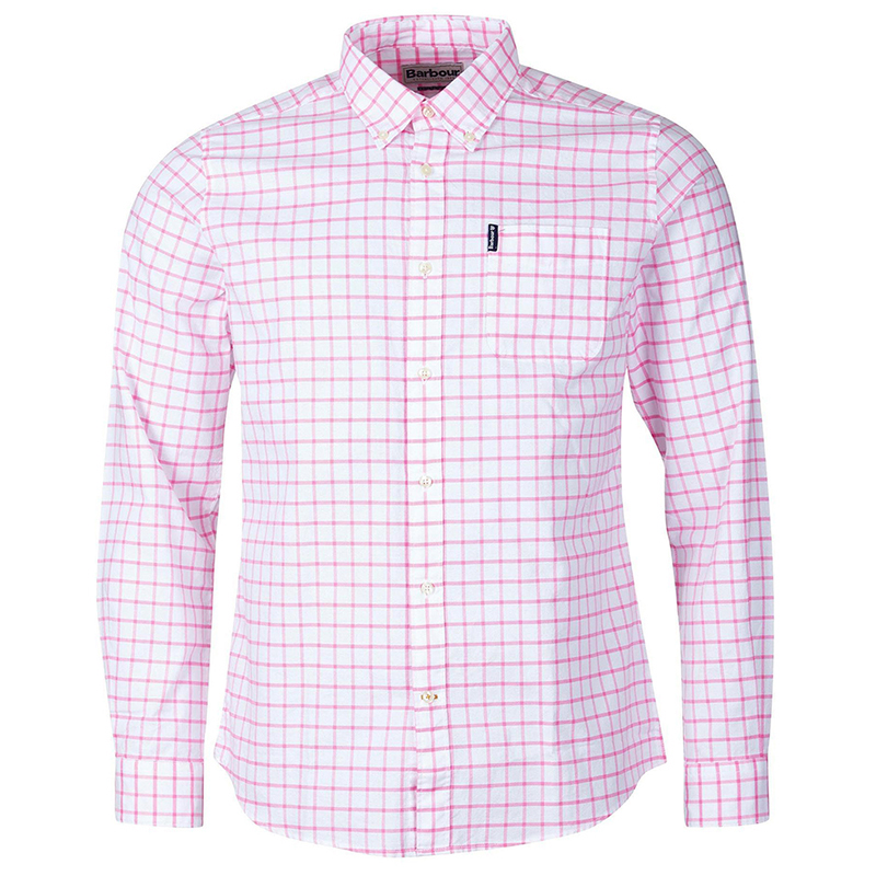 Barbour Barbour Tattersall 23 Tailored Shirt Pink FIT: Tailored
