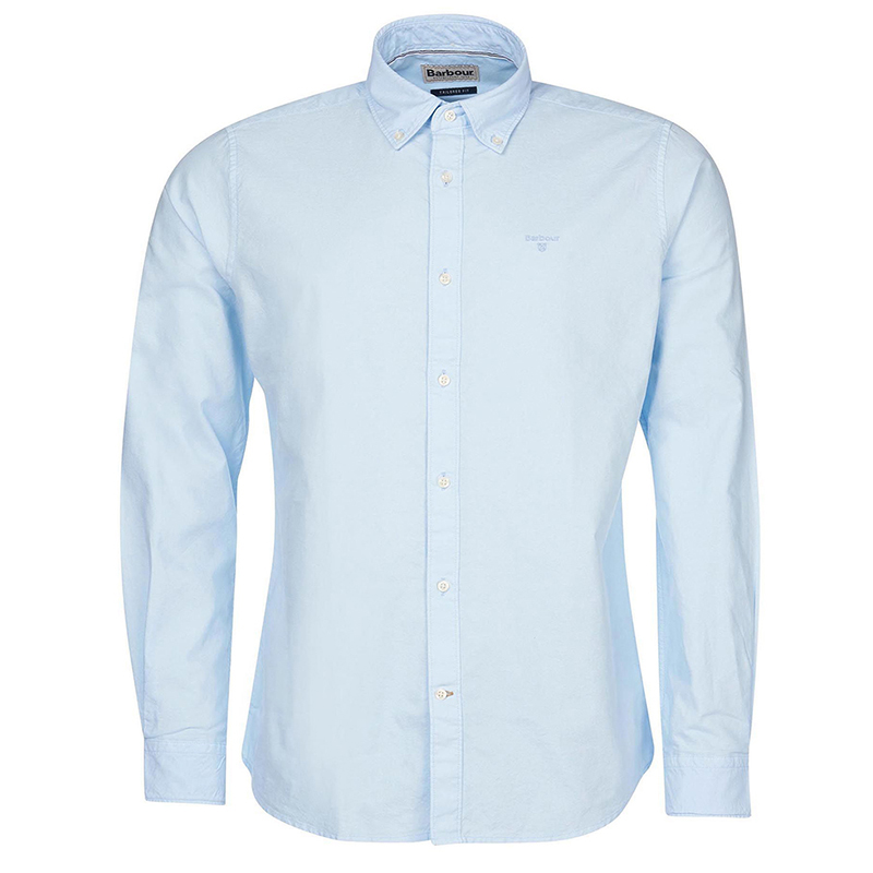 Barbour Barbour Oxford 13 Tailored Shirt Blue FIT: Tailored