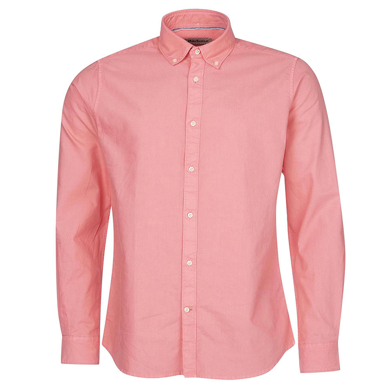 Barbour Barbour Oxford 13 Tailored Shirt Pink FIT: Tailored