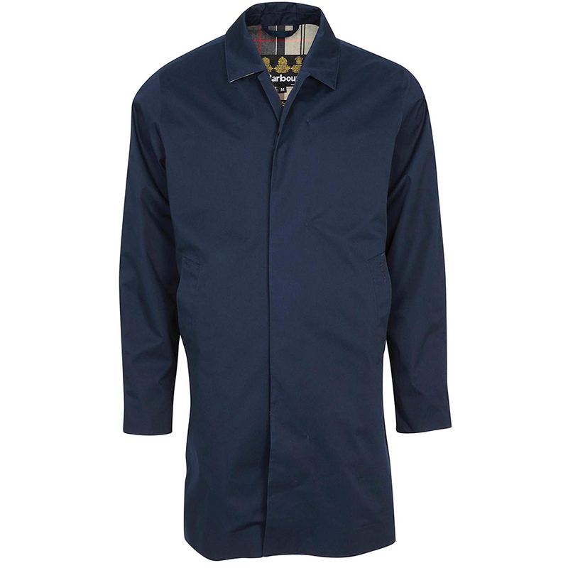 Barbour Barbour Rokig Waterproof Jacket Navy Barbour Lifestyle: Tailored Fit