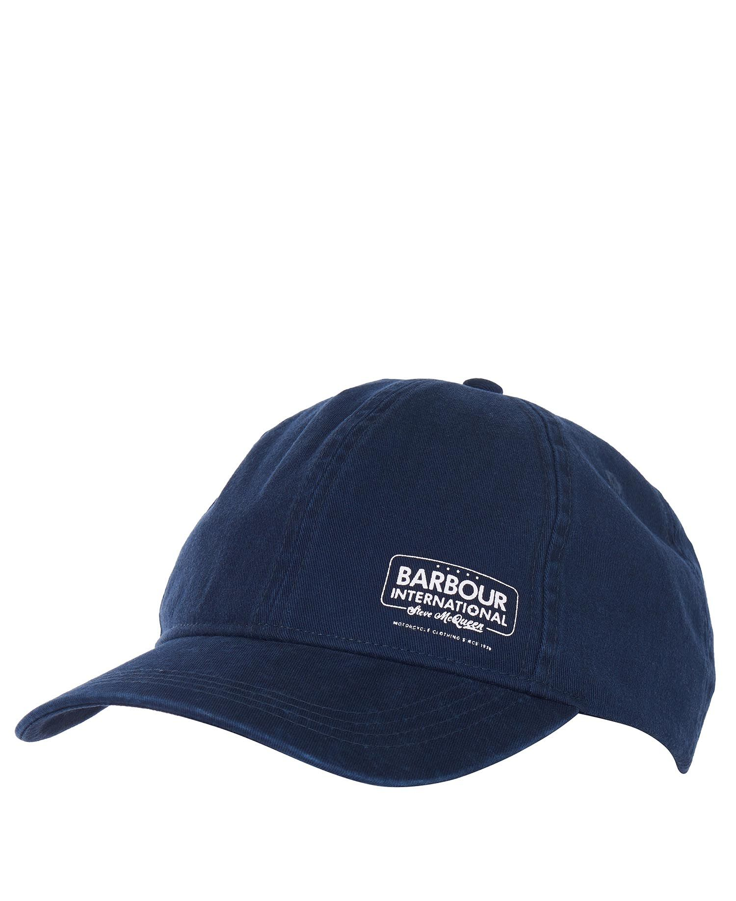 Barbour Branded SMQ Racer Cap Barbour International from Steve McQueen™ Collection